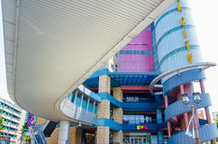 Fukuoka, Japan - 29. Juni 2014: Shopsping Mall der Kanal-Stadt Stockfoto