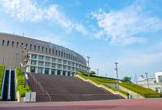 Fukuoka, Japan - Juni 30, 2014: Yahuokustadion royalty-vrije stock fotografie