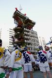 Fukuoka, Japan-May 12, 2017: A float in the With The Kyushu festival Stock Images