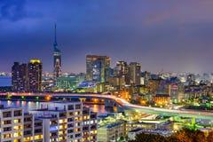 Fukuoka Japan Skyline Royalty Free Stock Image