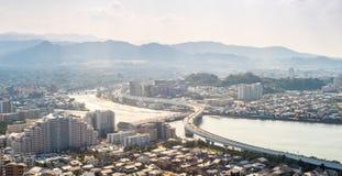 Fukuoka miasto Obrazy Royalty Free