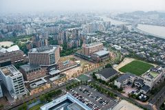 Fukuoka torn, Japan Arkivbild