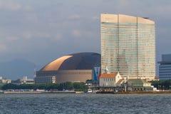 Fukuoka Yafuoku! Kopuła Seahawk & Hilton Zdjęcia Royalty Free