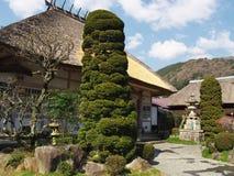 Fukusenji (temple) dans la ville d'Atami Image stock