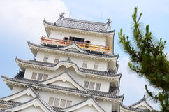 Fukuyama castle Royalty Free Stock Images