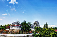 Fukuyama Castle (Ninomaru South Side) Royalty Free Stock Photos