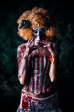 Ful clown Royaltyfri Foto