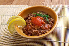Ful medames - Egyptian,Sudanese dish Stock Photo