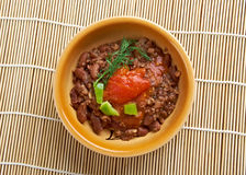 Ful medames - Egyptian,Sudanese dish Royalty Free Stock Image