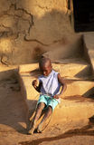 Fulani kid, Djenne, Mali Stock Photos