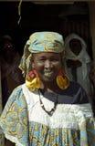 Fulani woman, Senossa, Mali Stock Image