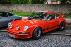 FULDA, ALEMANHA - MAI 2013: Carro retro de Porsche 911 930 Carrera sobre Fotos de Stock