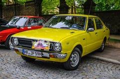 FULDA, DEUTSCHLAND - MAI 2013: Retro- Auto auf MAI 9, 2013 in Fulda, G Lizenzfreies Stockfoto