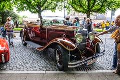 FULDA, DEUTSCHLAND - MAI 2013: Retro- Auto auf MAI 9, 2013 in Fulda, G Stockbilder