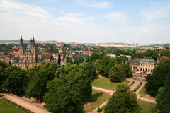 Fulda, Germany. Fulda Cathedral and Skyline in Hessen, Germany Stock Image