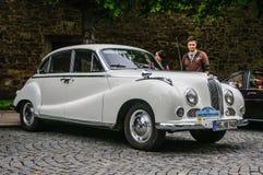 FULDA, GERMANY - MAI 2013: BMW 501 502 luxury saloon retro car o Stock Images