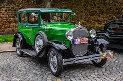 FULDA, GERMANY - MAI 2013: Ford Model A A-Model coupe retro car Royalty Free Stock Image