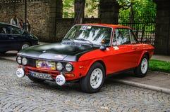 FULDA, GERMANY - MAI 2013: Lancia Fulvia Coupe 3 retro car on Ma Stock Photo