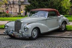 FULDA, GERMANY - MAI 2013: Mercedes-Benz 300S Coupe W188 retro c Royalty Free Stock Photo