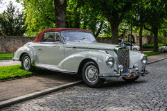 FULDA, GERMANY - MAI 2013: Mercedes-Benz 300S Coupe W188 retro c Royalty Free Stock Photo