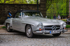 FULDA, GERMANY - MAI 2013: Mercedes-Benz 300SL cabrio roadster r Royalty Free Stock Photography