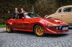 FULDA, GERMANY - MAI 2013: Opel GT sports coupe retro car on Mai Royalty Free Stock Image