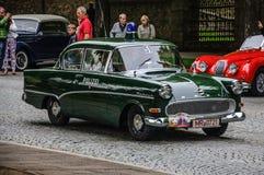 FULDA, GERMANY - MAI 2013: Opel Kapitan police luxury retro car Stock Images