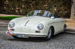 FULDA, GERMANY - MAI 2013: Porsche 356 cabrio luxury sport retro Royalty Free Stock Photo