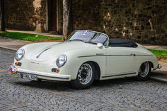 FULDA, GERMANY - MAI 2013: Porsche 356 cabrio luxury sport retro Royalty Free Stock Image