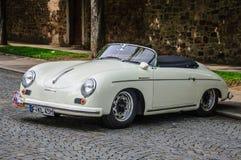 FULDA, GERMANY - MAI 2013: Porsche 356 cabrio luxury sport retro Royalty Free Stock Image