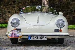 FULDA, GERMANY - MAI 2013: Porsche 356 cabrio luxury sport retro Stock Images