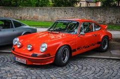 FULDA, GERMANY - MAI 2013: Porsche 911 930 Carrera retro car on Stock Photos