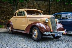FULDA, GERMANY - MAI 2013:  retro car on Mai 9, 2013 in Fulda, G Stock Photography