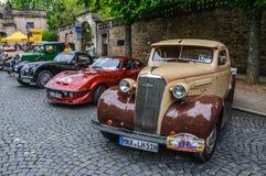FULDA, GERMANY - MAI 2013:  retro car on Mai 9, 2013 in Fulda, G Royalty Free Stock Photo