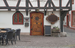 Fulda in Hesse. Architectural detail in Fulda, a city in Hesse, Germany stock photo