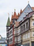 Fulda in Hesse. Historic houses in Fulda, a city in Hesse, Germany stock photo