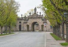 Fulda in Hesse. Street scenery in Fulda, a city in Hesse, Germany royalty free stock image
