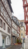Fulda in Hesse. Street scenery in Fulda, a city in Hesse, Germany royalty free stock photo