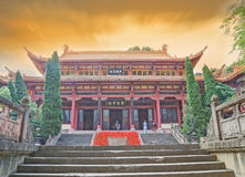 FULE buddhist pagoda Royalty Free Stock Photo