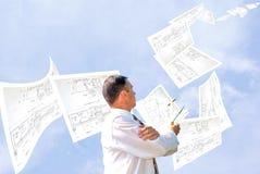 Fulfilled engineering design Stock Photos