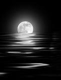 Fulgor da lua Fotos de Stock