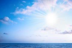 Fulgor da luz do sol Imagens de Stock Royalty Free