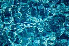 Fulgor de Sun en el agua clara foto de archivo libre de regalías