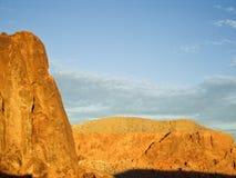 Fulgor do deserto Fotos de Stock