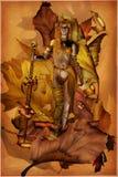 Fulgor interno Ilustração Royalty Free