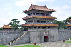 Fuling Grab der Qing Dynastie, Shenyang, China lizenzfreie stockfotografie