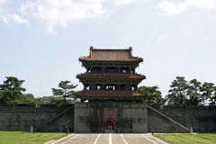 Fuling tomb Royalty Free Stock Photos