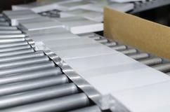 Fulländande linje maskin för stolpetryckpress Royaltyfri Fotografi