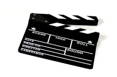 Full Action Board. Cinema, Filming, Full Action Board Royalty Free Stock Images