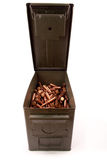 Full Ammo Can Royalty Free Stock Image